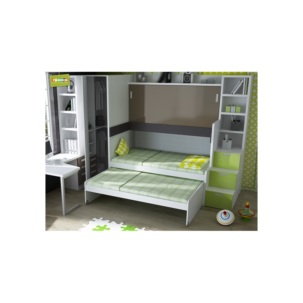 Camas nido en madrid economicas - Habitacion infantil cama nido ...