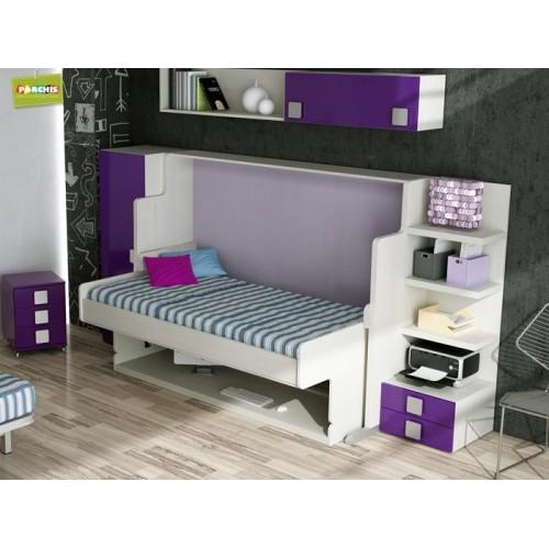 Dormitorios juveniles tienda de muebles venta de muebles - Camas juveniles altas ...
