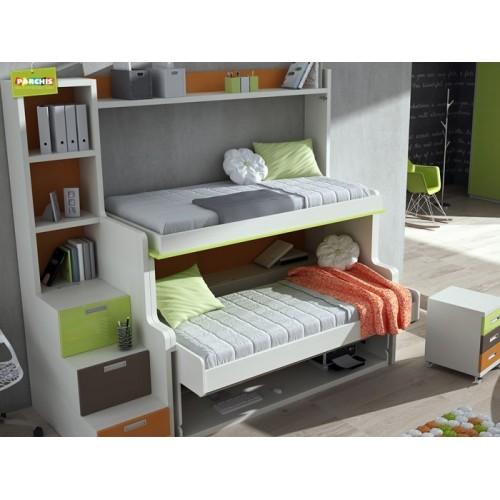 Camas nido en madrid economicas for Dormitorios juveniles cama nido doble