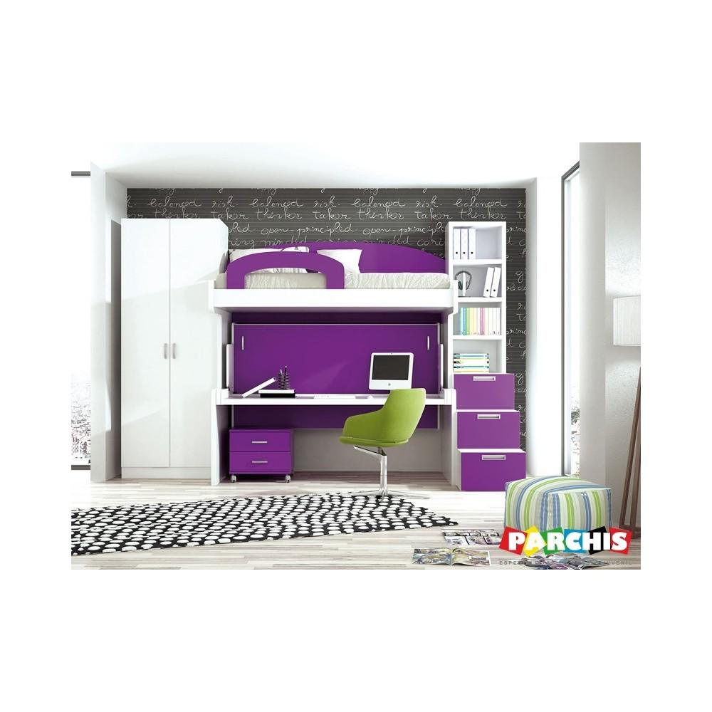 Muebles juveniles para chicas habitaciones juveniles for Muebles de oficina jovalu