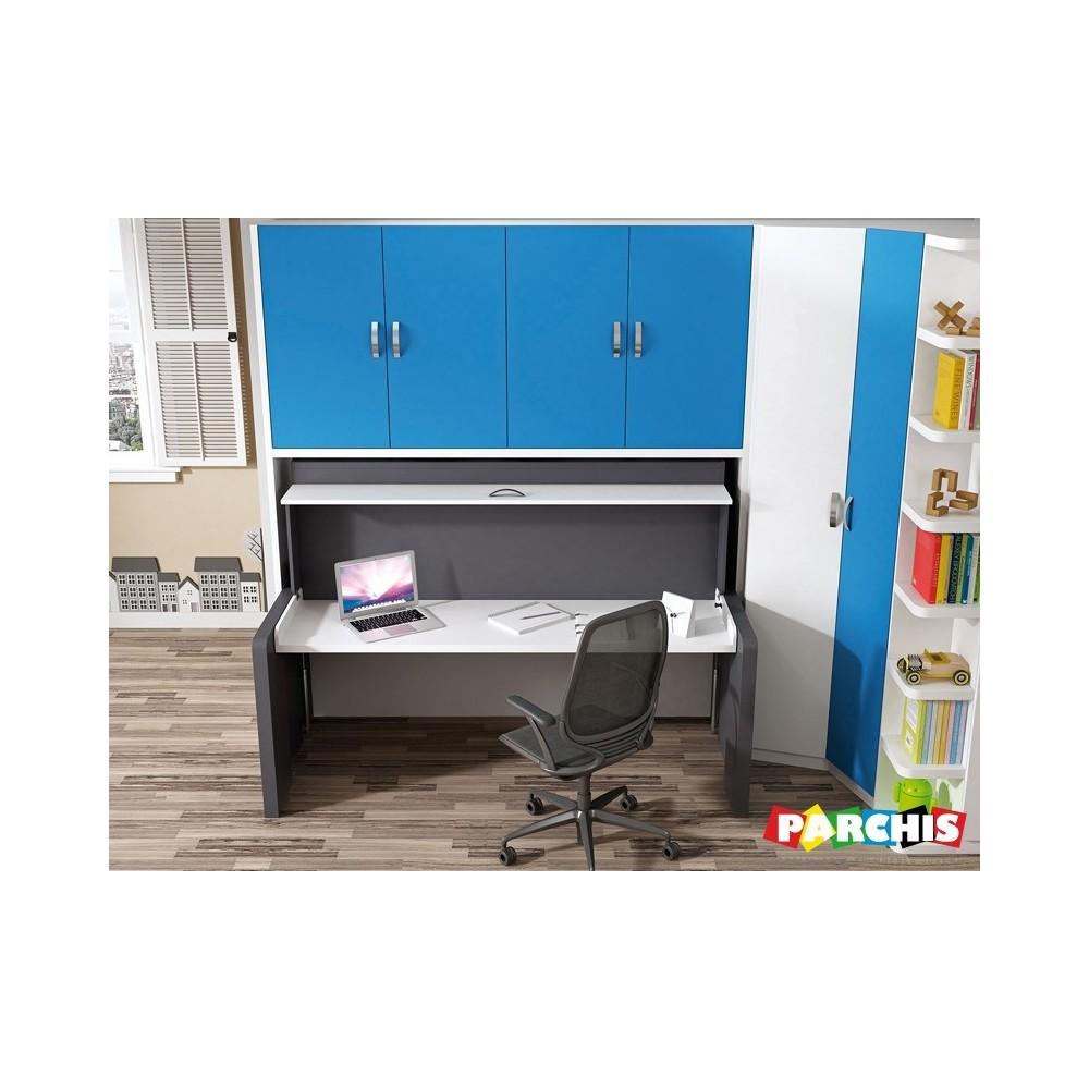 Habitaciones juveniles modulares comprar muebles en for Muebles juveniles baratos madrid