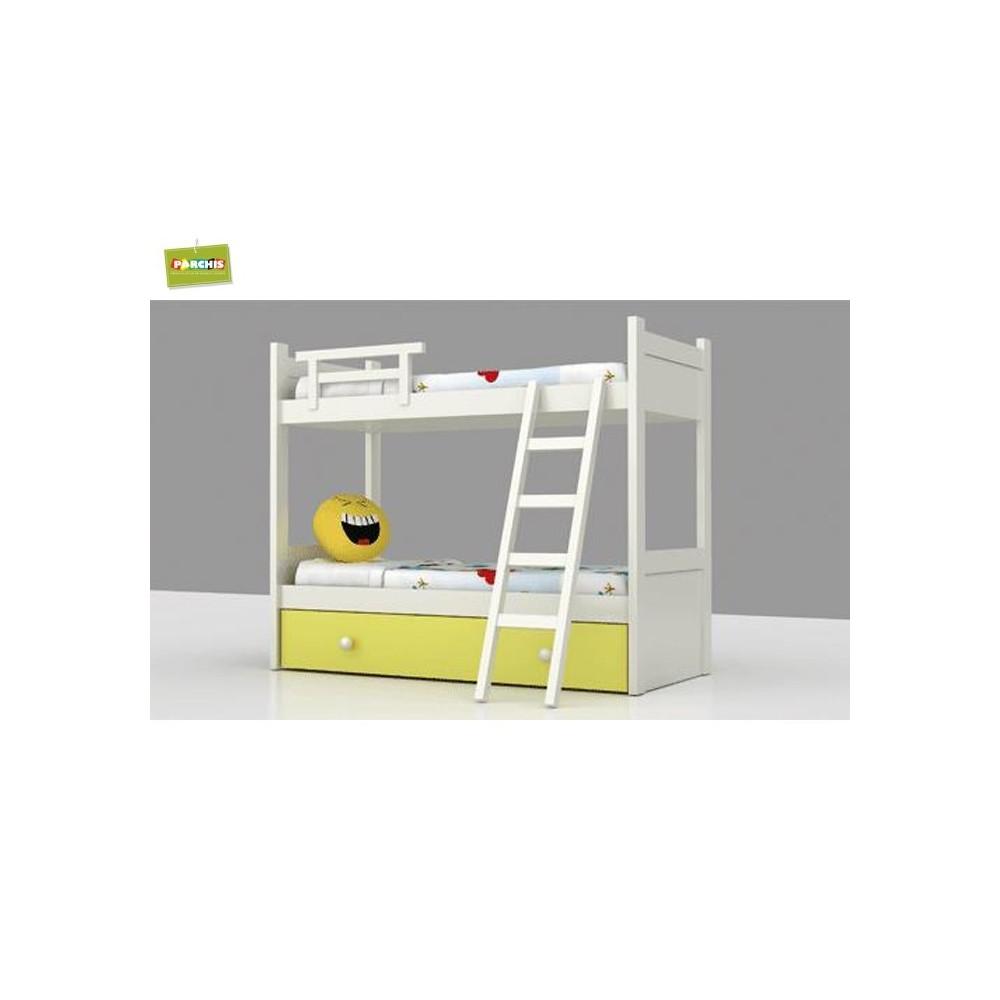 Habitaciones juveniles y muebles modulares infantiles for Cuartos para ninas literas