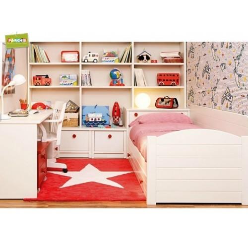 Dormitorios juveniles tienda de muebles venta de muebles for Camas altas juveniles