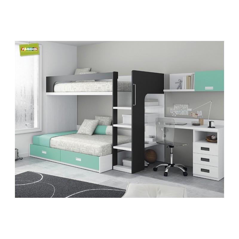 Ventademueblesenmadrid dormitoriosjuveniles for Muebles de oficina jovalu