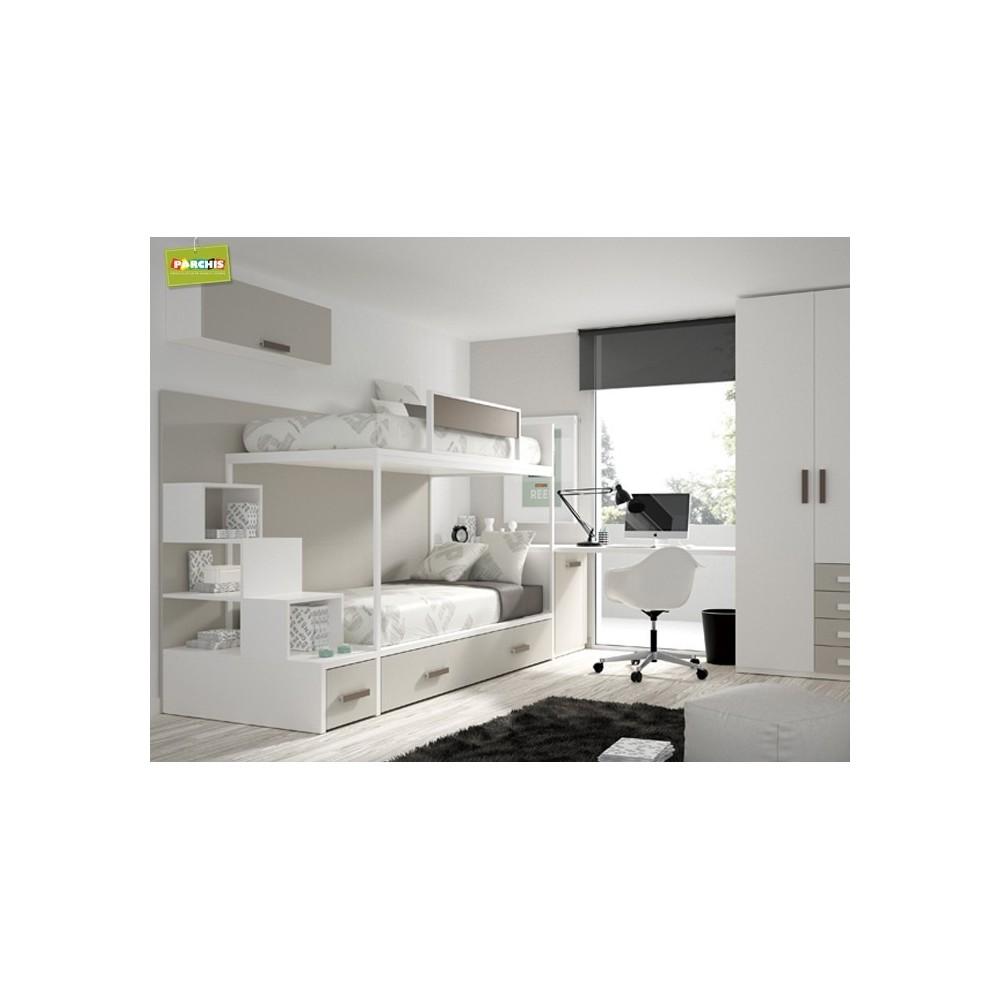 Camas del real madrid para habitaciones - Habitaciones juveniles 2 camas ...