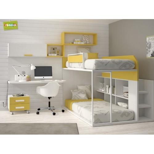Habitacionesmodularesconmueblesjuveniles - Diseno de dormitorios juveniles ...