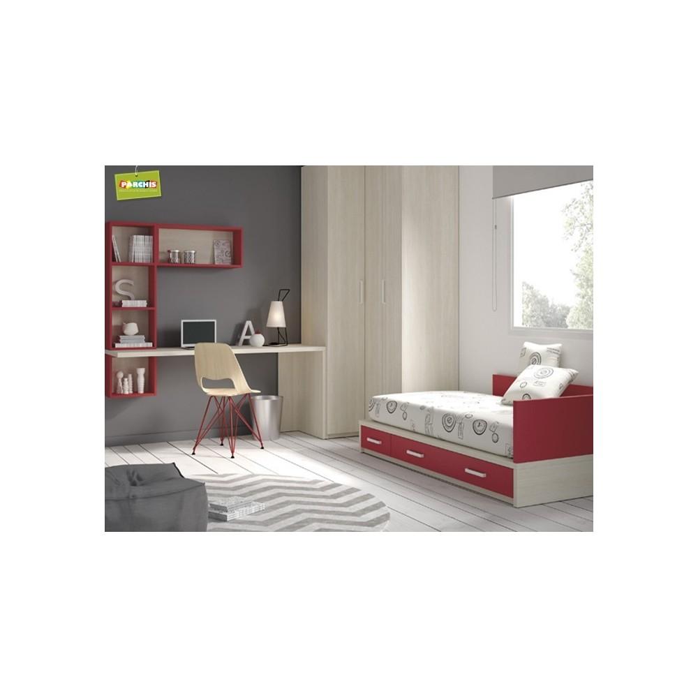 Donde comprar camas verticales abatibles de 105 for Dormitorios juveniles cama de 105
