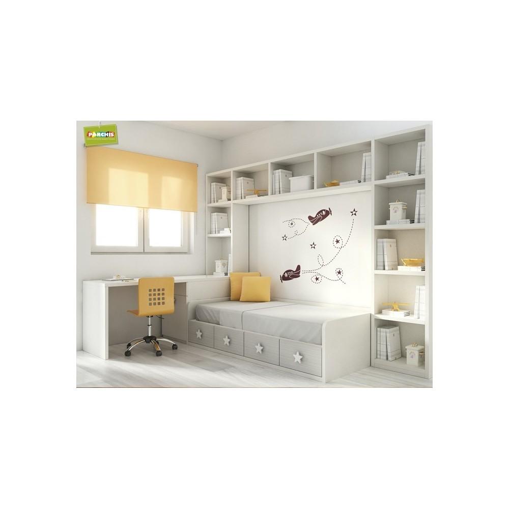 Mueblescamamesaconvertible - Mesas de estudio para espacios pequenos ...