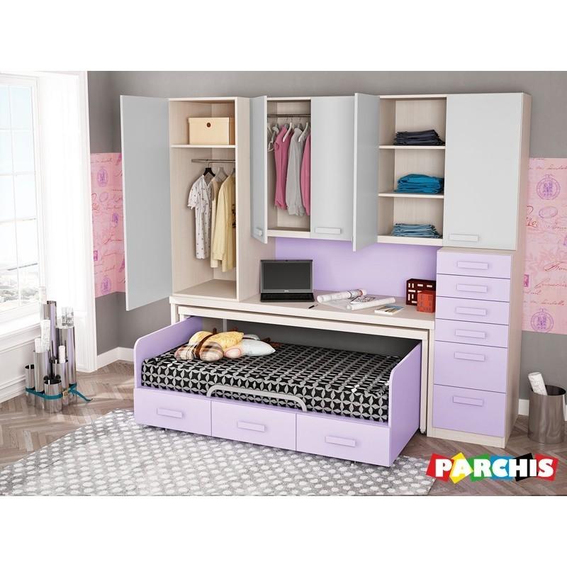 Mueblesjuvenilesparapladur for Muebles espacios pequenos