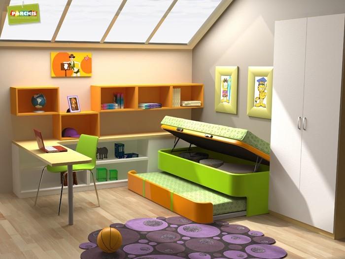 Como amueblar un dormitorio juvenil pequeo ideas para for Amueblar dormitorio juvenil pequeno