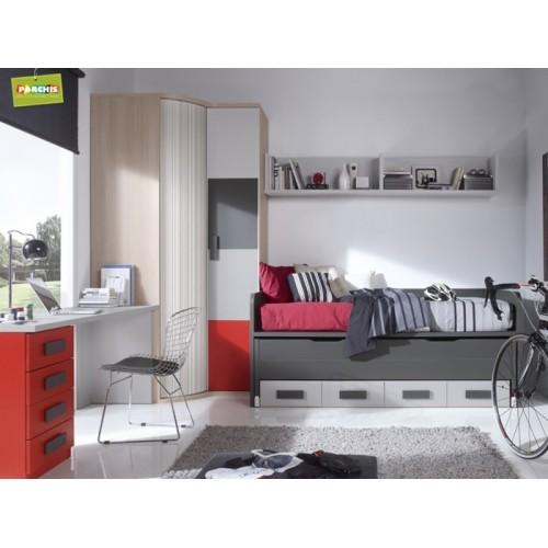 donde comprar muebles juveniles con tres camas en madrid