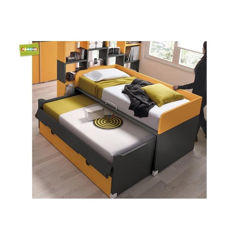 Muebles juveniles con camas tipo tren venta en madrid y toledo - Camas tipo tren ...
