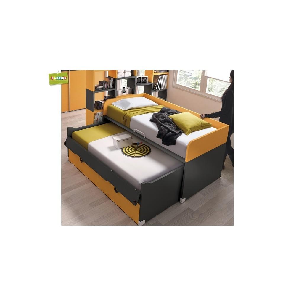 Muebles juveniles con camas tipo tren venta en madrid y toledo - Cama tipo tren ...