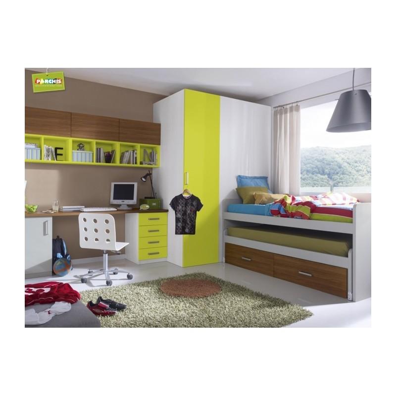 Camas tren infantiles en madrid 10 tienda habitaciones - Habitacion tren juvenil ...