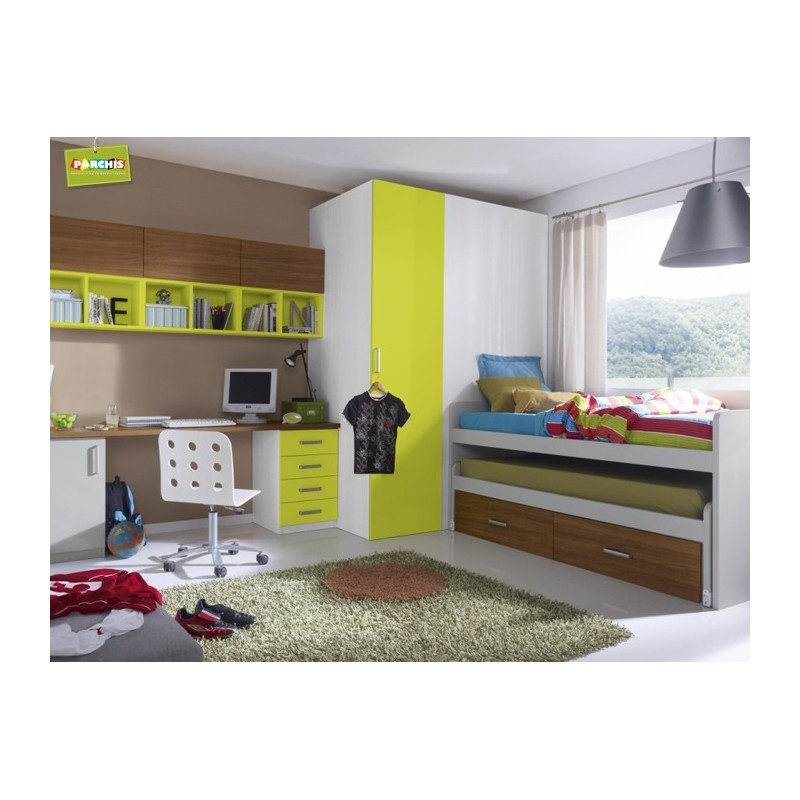 Habitacion tren infantil cheap dormitorio infantil tren palencia muebles e muebles para - Muebles tren infantil ...