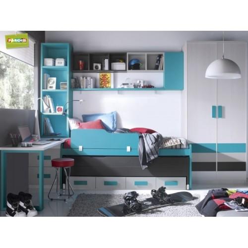 Comprarmueblesjuvenilesenmadrid donde ver modelos de camas juveniles toledo - Habitaciones juveniles tipo tren ...