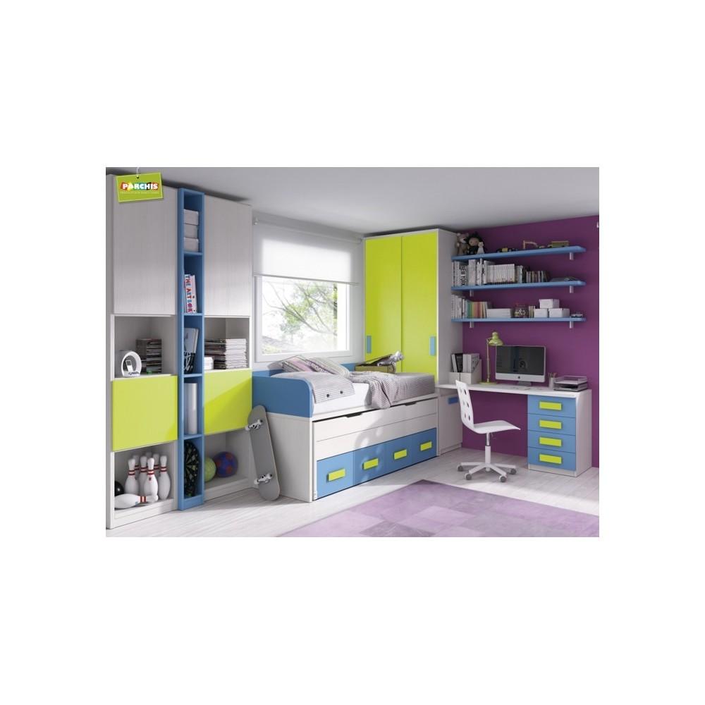 Donde comprar muebles literas tipo tren en madrid y toledo - Mueble infantil madrid ...
