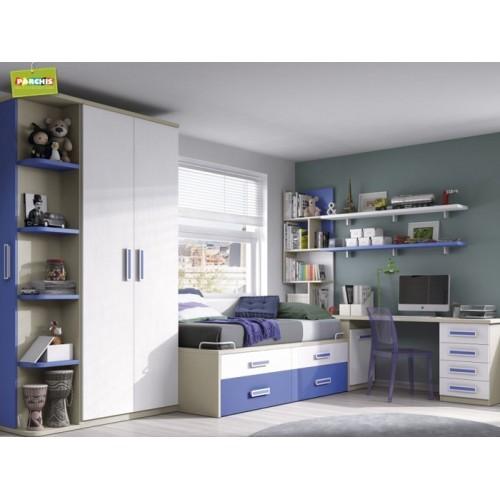 Como amueblar un dormitorio juvenil tienda muebles infantiles en madrid - Dormitorios juveniles en madrid ...