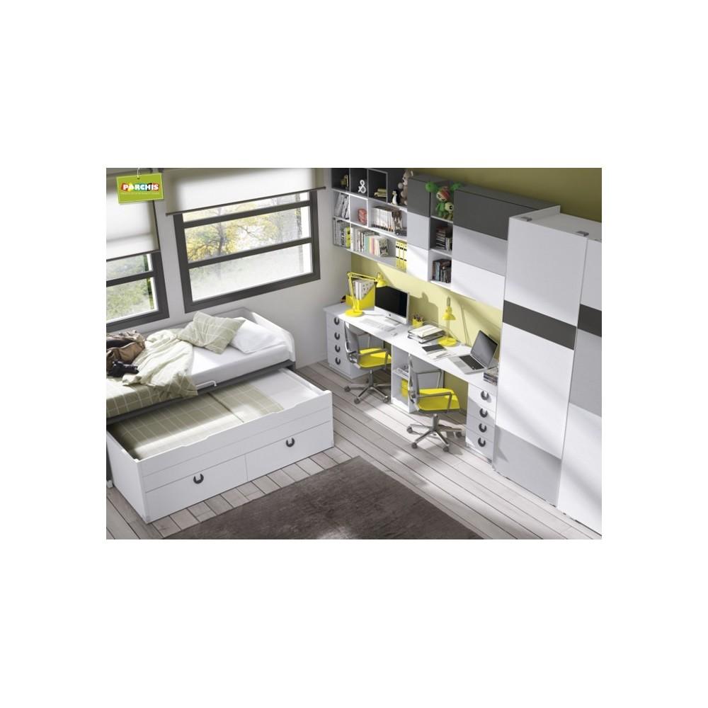 Comprar muebles compactos camas nido juveniles para chicos