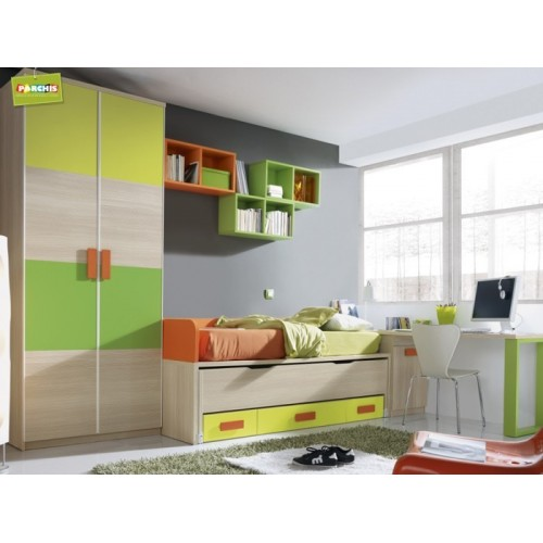 Ideas de muebles infantiles con camas nido como decorar for Muebles dormitorio madrid