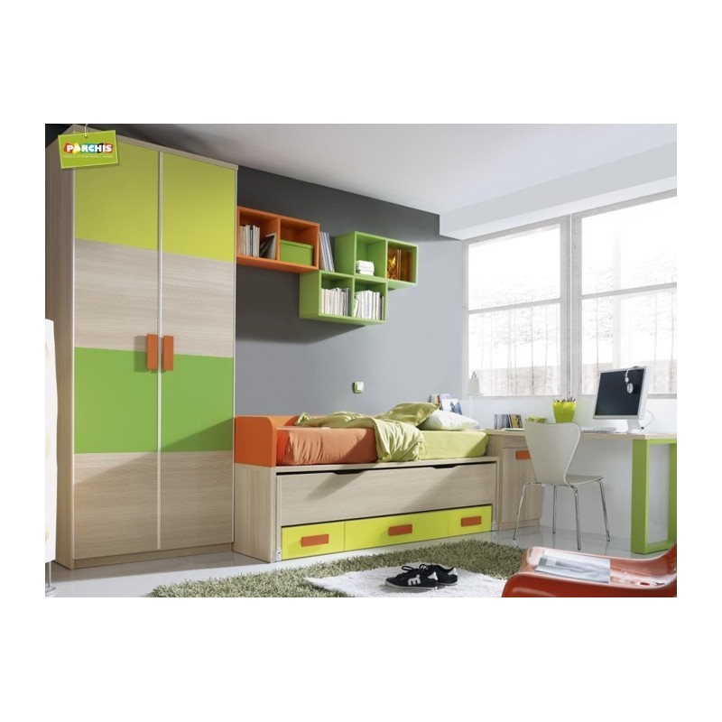 Ideas de muebles infantiles con camas nido como decorar for Cama nido oferta madrid