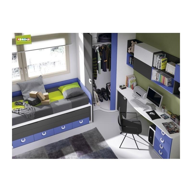 Ideas para decorar dormitorios infantiles con camas nido - Camas dormitorios infantiles ...