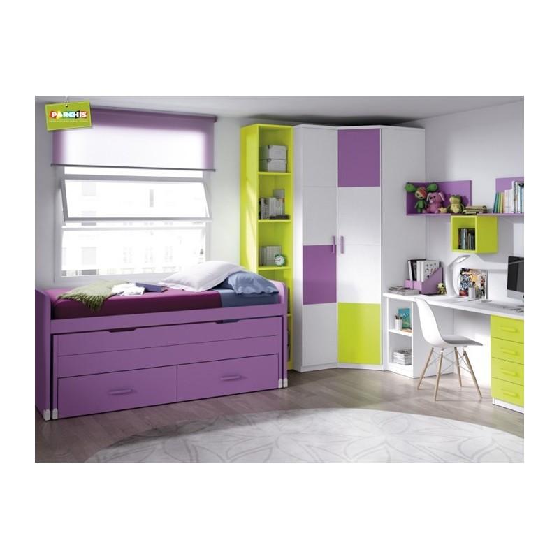 Comodecorarmuebles ideas para amueblar habitaciones - Cama nido infantil ...
