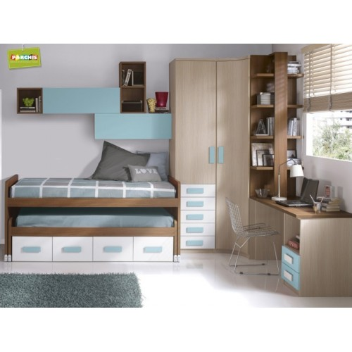 Ideas para amueblar con camas nido infantiles un for Camas nidos para ninas