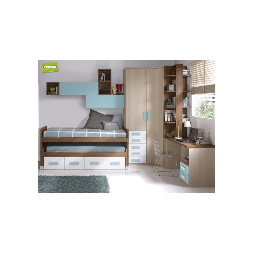 Ideas para amueblar con camas nido infantiles un - Dormitorio infantil cama nido ...