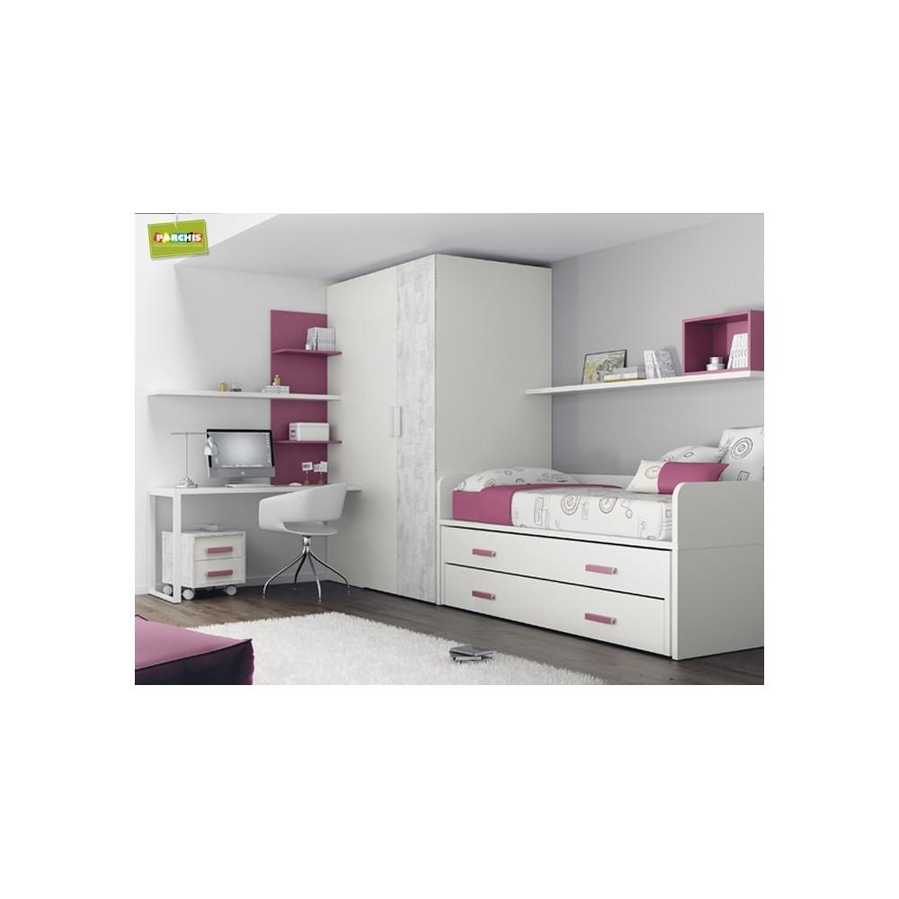 Camas compactas infantiles en madrid 07 tienda for Dormitorios infantiles madrid