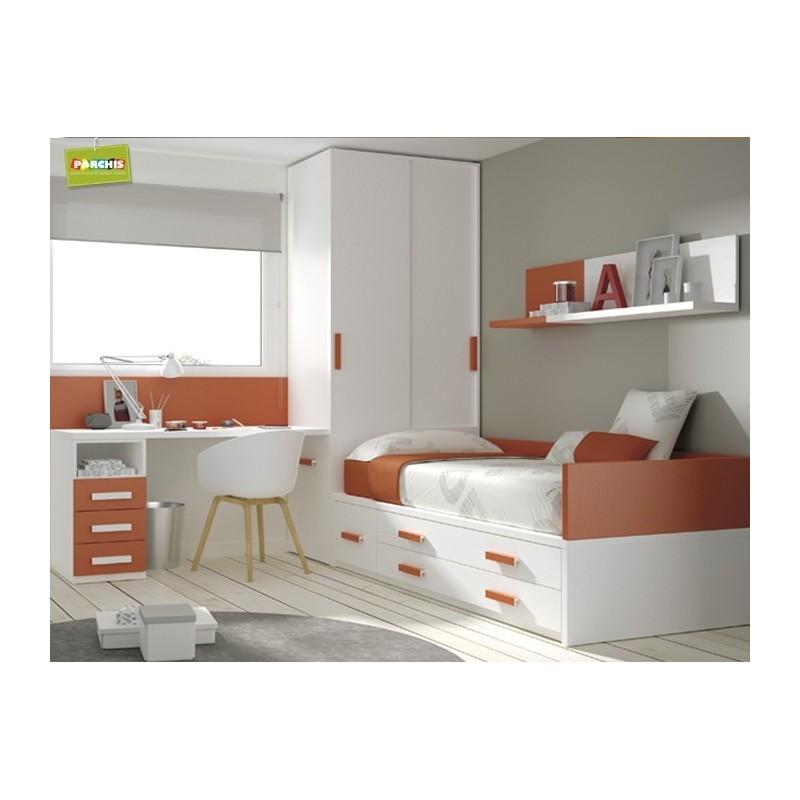 Camas compactas infantiles en madrid 12 tienda - Dormitorios infantiles madrid ...