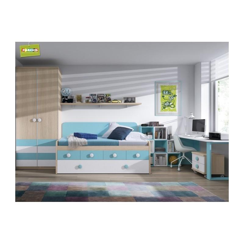 Camas compactas infantiles en madrid 17 tienda - Camas juveniles compactas ...