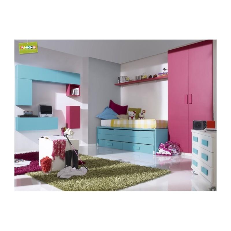 Camas compactas infantiles en madrid 20 tienda for Dormitorios infantiles madrid
