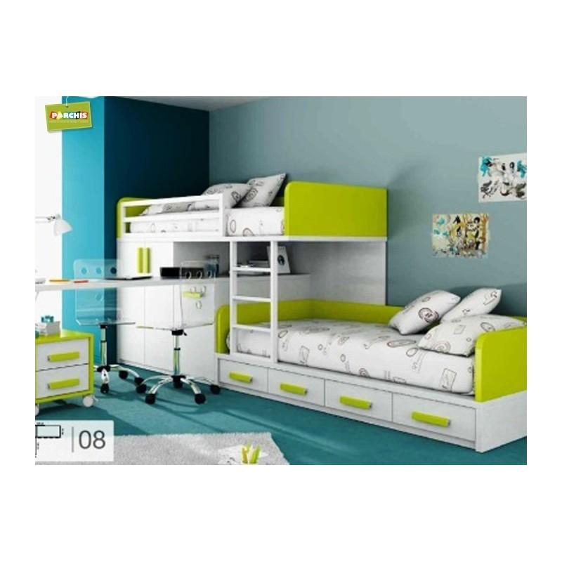 Comprar camas plegables verticales muebles en madrid - Camas para espacios pequenos ...