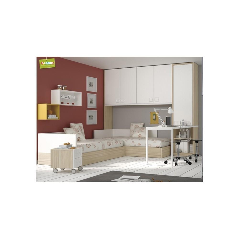 Habitaciones juveniles camas abatibles horizontales - Habitaciones juveniles camas abatibles horizontales ...