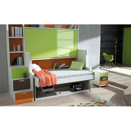 Donde comprar camas tren en madrid dormitorios con dos camas - Cama litera tren ...