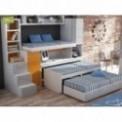 Dormitorios con Camas Triples Autoportantes