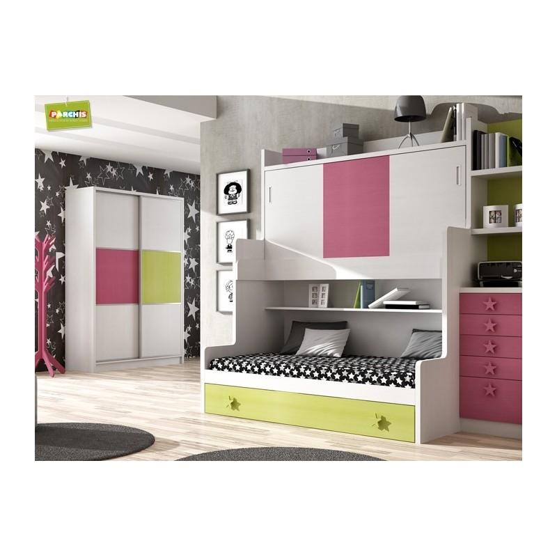 Dormitorios con camas triples abatibles - Dormitorios con camas abatibles ...
