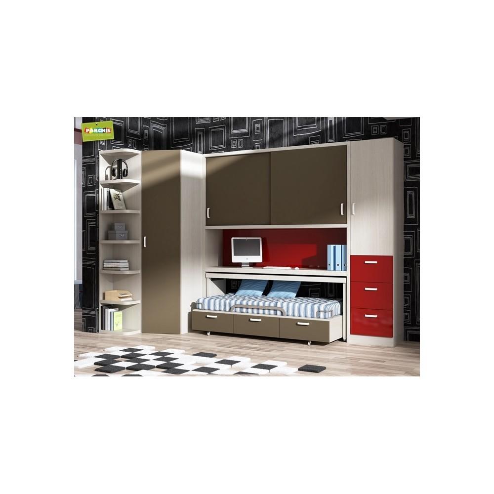Dormitorios con Literas para Pladur - Dormitorios juveniles