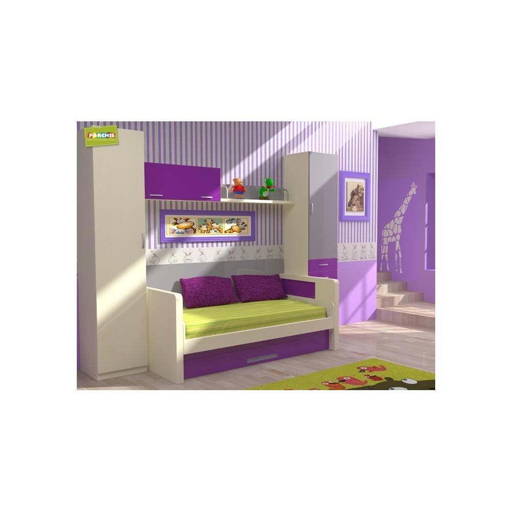 cama nido para nios con mesa de escritorio muebles en moratalaz