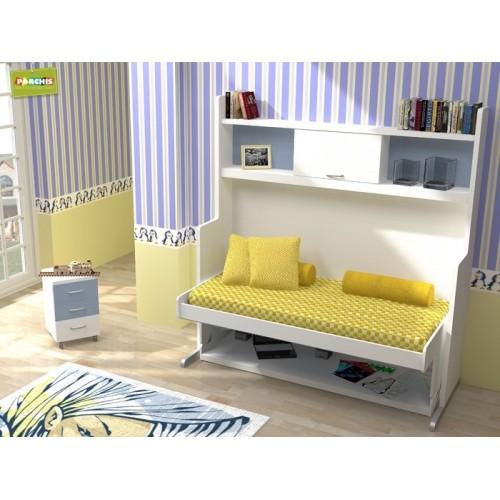 9-Habitación infantil con cama mesa en Vicalvaro