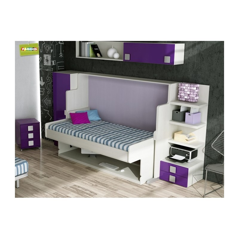 10- Cama con Mesa para espacios reducidos, en Fuencarral