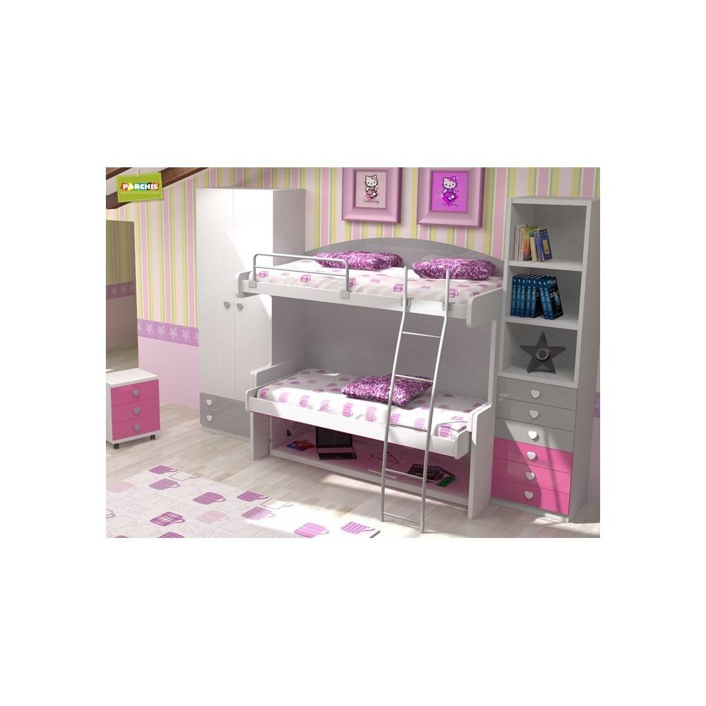 Dormitoriosinfantilesconliterasabatibles literas - Dormitorios juveniles ...