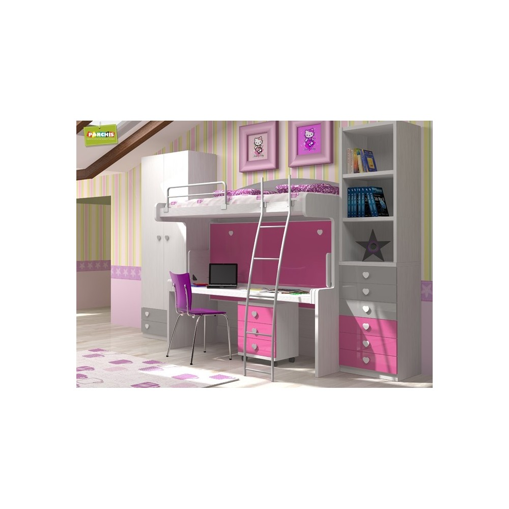 Dormitorios juveniles madrid dormitorios juveniles de for Muebles tuco albacete