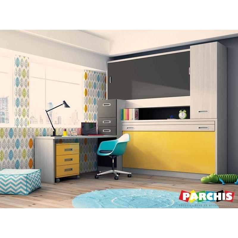 Comprar literas abatibles para pladur sistemas abatibles pladur - Dormitorios juveniles dobles ...