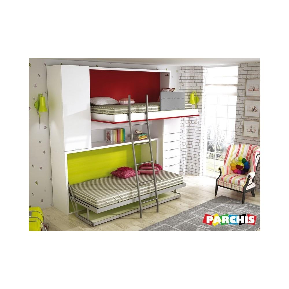 muebles juveniles para paredes de pladur y espacios pequeos en vallecas