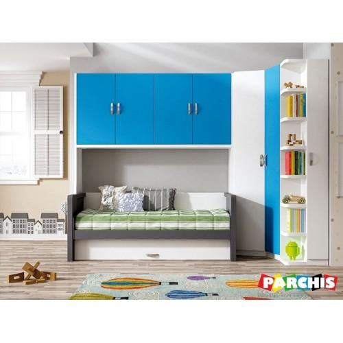 mobiliario juvenil con cama mesa nido baja para nios comprar en vallecas