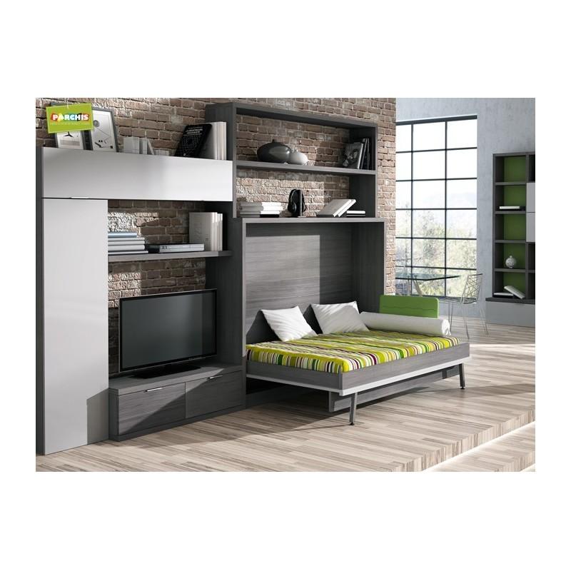 Camas ocultas para salones muebles cama horizontales for Casarse en madrid