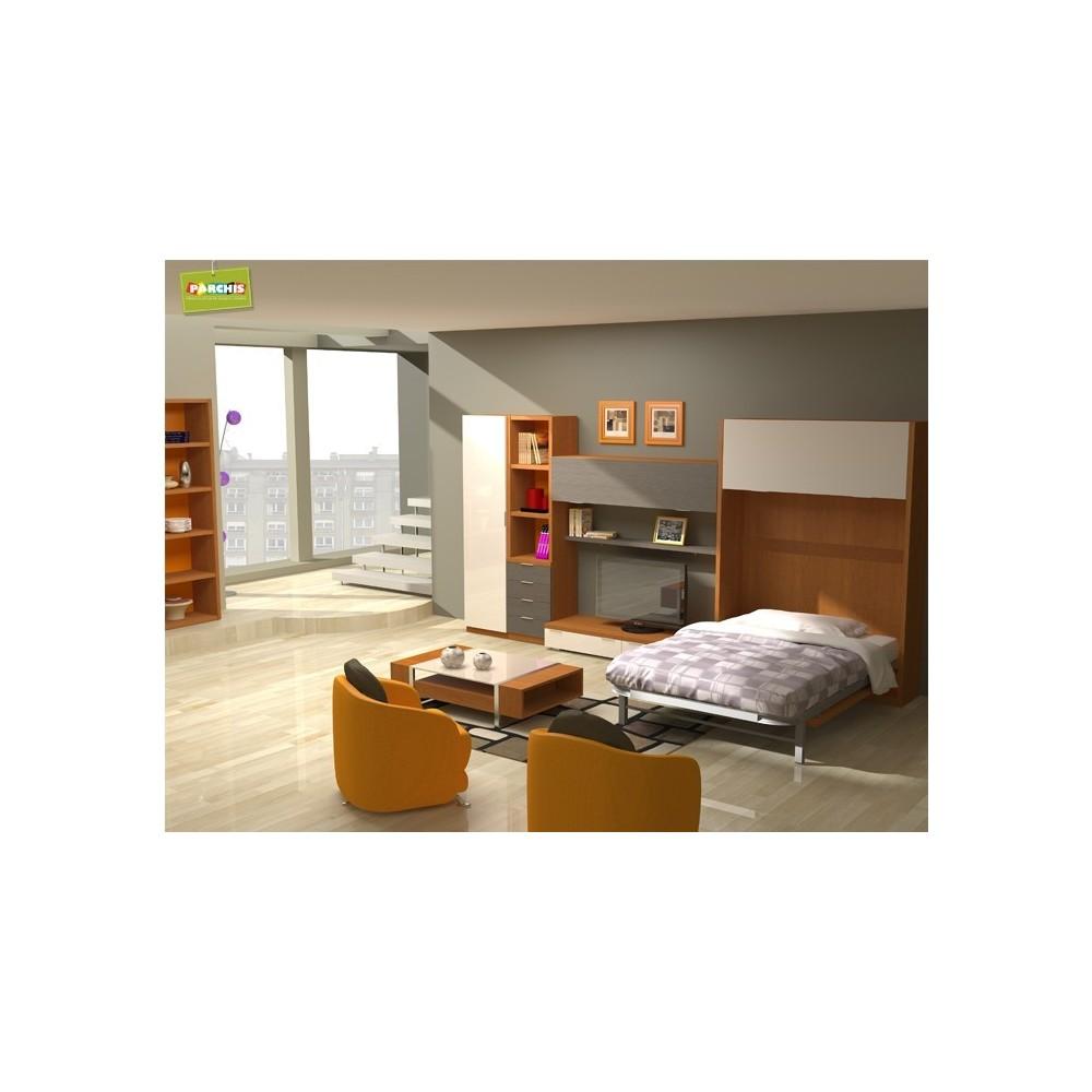 Salonesconcamas camasverticalesabatibles for Muebles convertibles en cama