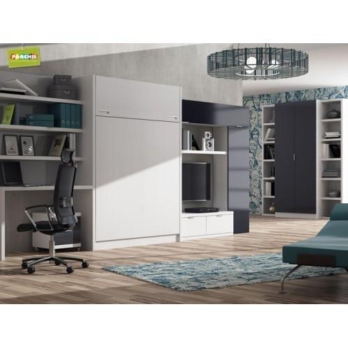 Camas ocultas para salones muebles cama horizontales - Muebles en arganda del rey ...